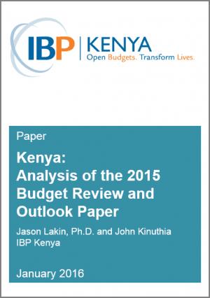 IBP Kenya BROP Analysis