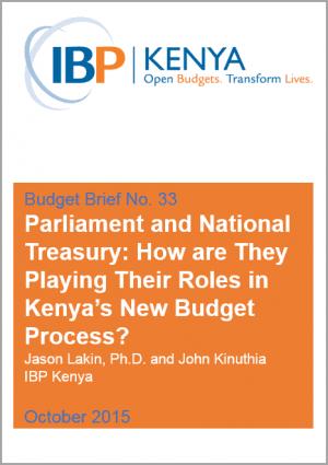 IBP Kenya Budget Brief