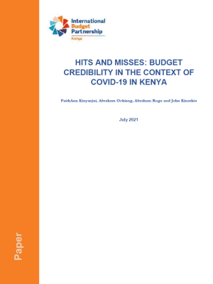 Hits and misses: Budget credibility in the context of COVID-19 in Kenya