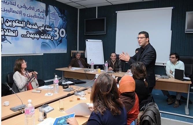 Media workshops in Tunisia