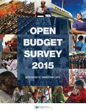 The Open Budget Survey 2015