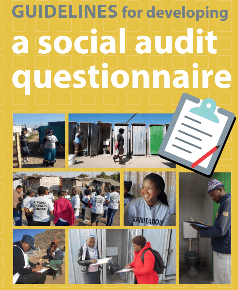 Guidelines for developing a social audit questionnaire