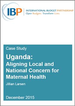 case study: maternal health in Uganda