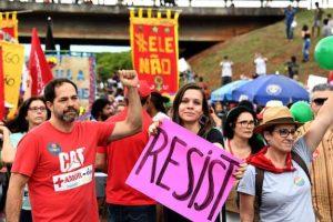 Protesto #EleNão - the largest women's demonstration in Brazilian history