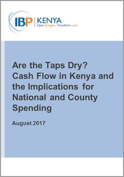 Cash Flow in Kenya
