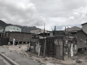 Cape Town South Africa Informal Settlement