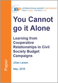 civil society budget campaigns