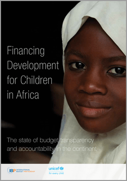 Financing Development for Children in Africa