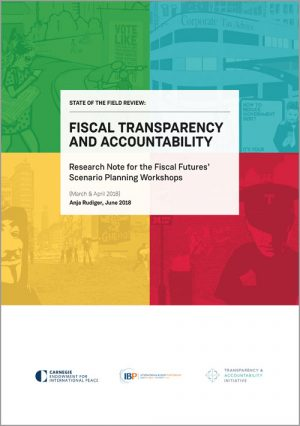 Rethinking Fiscal Futures: Questions for the Fiscal Transparency and Accountability Field