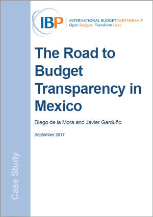 The Road to Budget Transparency in Mexico