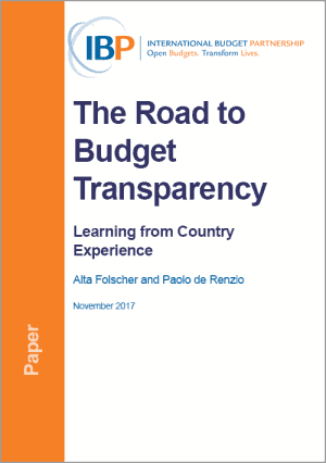 The Road to Budget Transparency in Six Countries