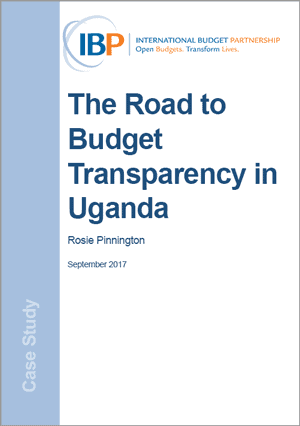The Road to Budget Transparency in Uganda