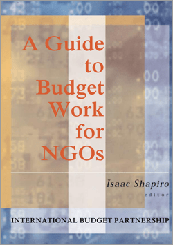 A guide to Budget Work for NGOs