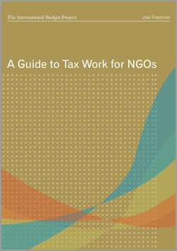 Guide to Tax Work Civil Society NGO