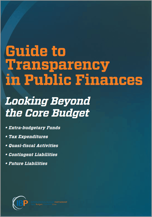 A Guide to Transparency in Public Finances: Looking Beyond the Budget