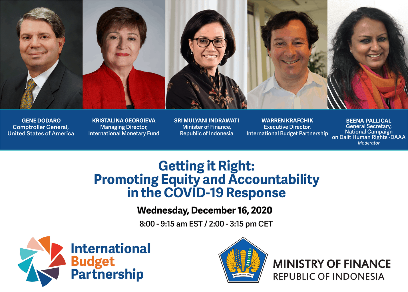 In case you missed it: high-level panel on promoting equity and accountability in the COVID-19 response