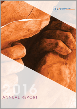 2016 International Budget Partnership Annual Report