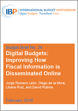 IBP Budget Brief Digital Budgets