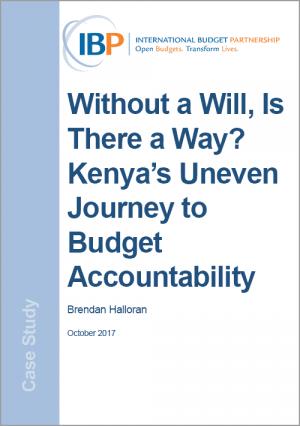 Kenya's Uneven Journey to Budget Accountability