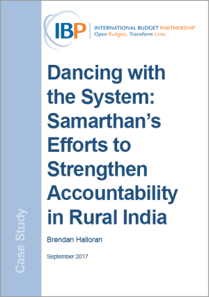 strengthening accountability in rural india