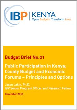 ibp-kenya-cbef-brief-2013