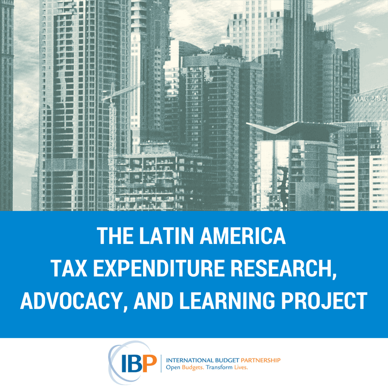 Tax Expenditures and Inequality in Latin America: News from a Collaborative Civil Society Partnership