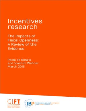 The Impacts of Fiscal Openness: A Review of the Evidence