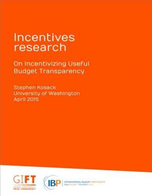 On Incentivizing Useful Budget Transparency