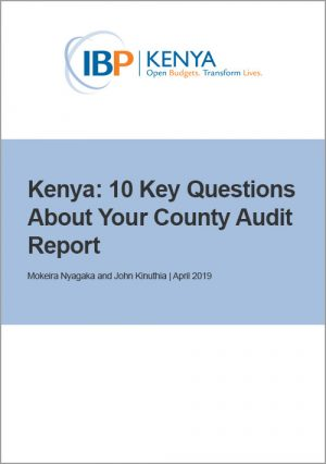 Kenya County Audit Reports
