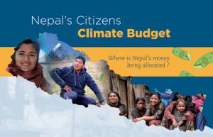 Citizens Climate Budget - Nepal
