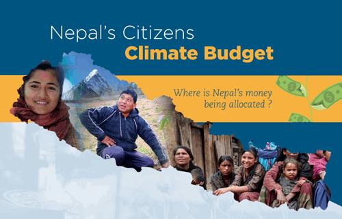 Nepal Meluncurkan Anggaran Iklim Warga Negara Pertama