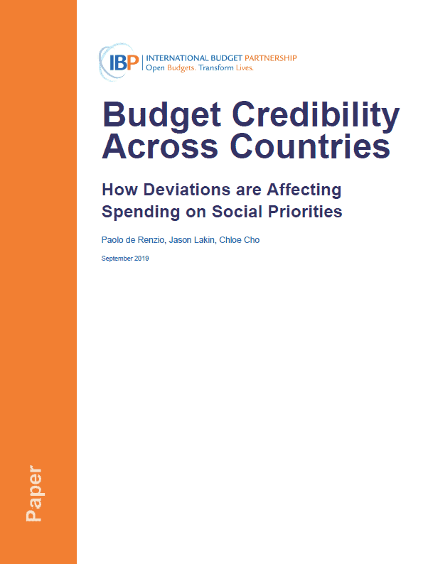 Budget Credibility Across Countries: How Deviations are Affecting Spending on Social Priorities