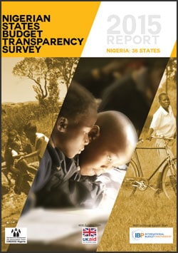 Nigerian State Budget Transparency Report