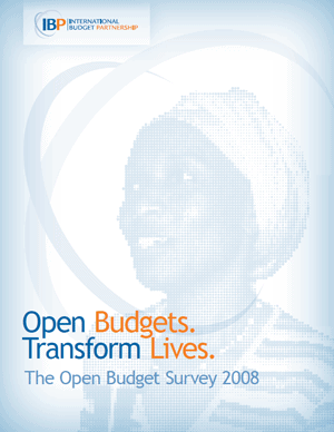 Open Budget Survey Report 2008