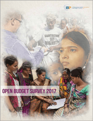 Just Released: The Open Budget Survey 2017