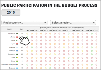 Public Participation in the Budget Process
