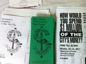 Participatory Budgeting in Action