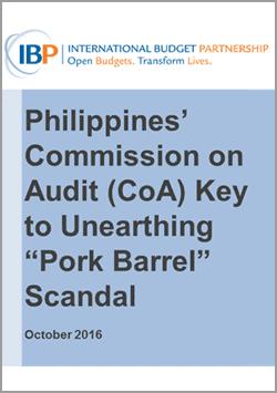 philippines pork barrel audit