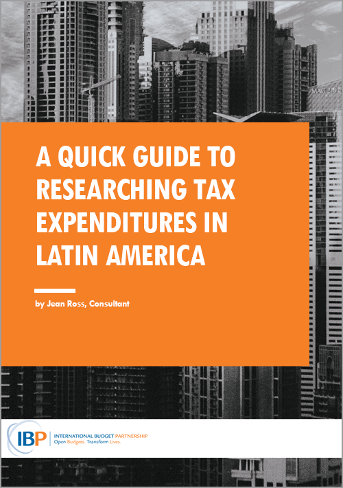 A Quick Guide to Researching Tax Expenditures in Latin America