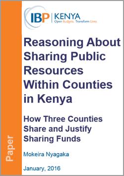 kenya county resource sharing