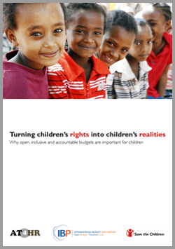 Turning Children's Rights into Children's Realities