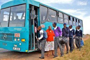 South Africa Learner Transportation Grant Proposal