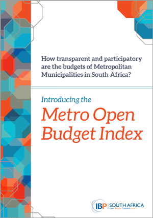 An Introduction to the South Africa Metro Open Budget Index