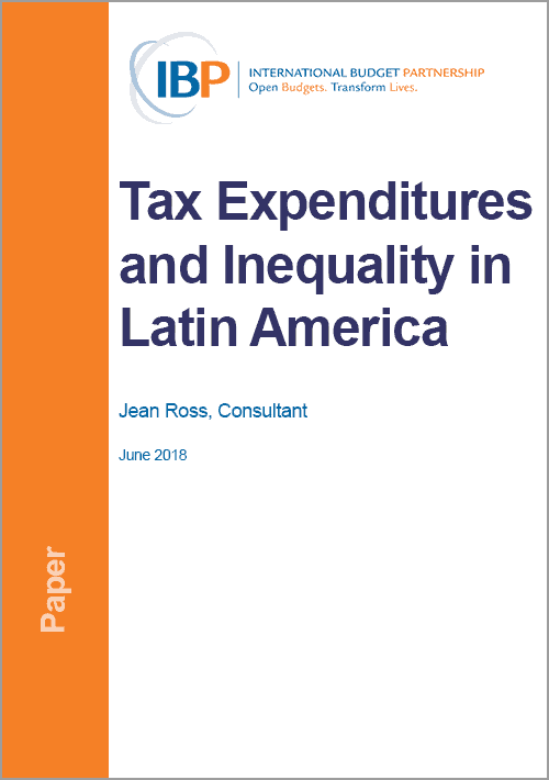 Tax Expenditures and Inequality in Latin America