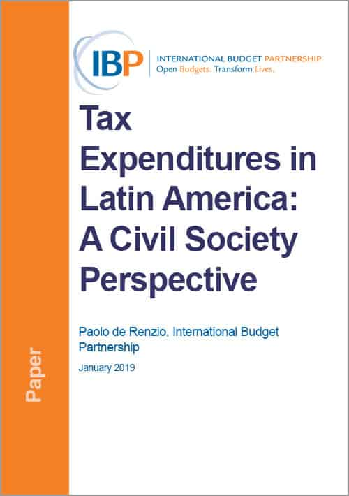Tax Expenditures in Latin America: A Civil Society Perspective
