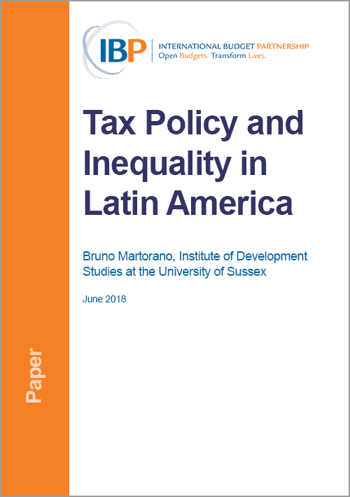 Tax Policy and Inequality in Latin America