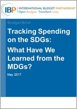 tracking sustainable development goal spending