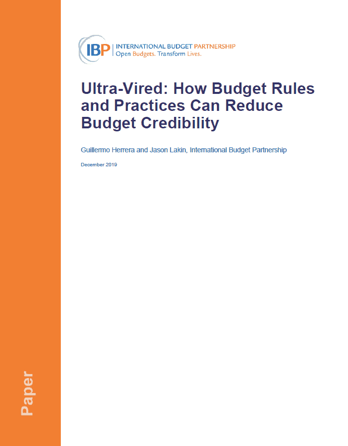 Ultra-Vired: How Budget Rules and Practices Can Reduce Budget Credibility