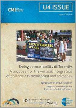 civil society driving accountability impact