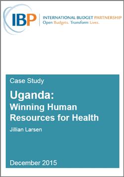 case study: health in Uganda